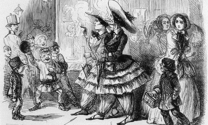 Bloomers, Dress Reform, and Women's Rights